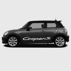 Sticker Logo Cooper S latéral pour Mini