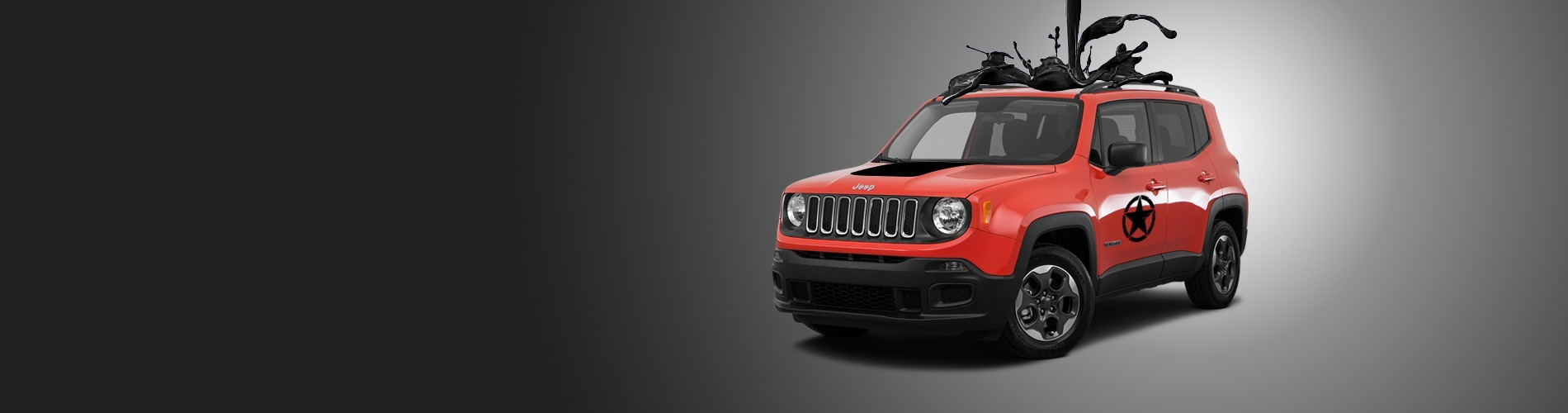 My Beautiful Car - Jeep Renegade Decals