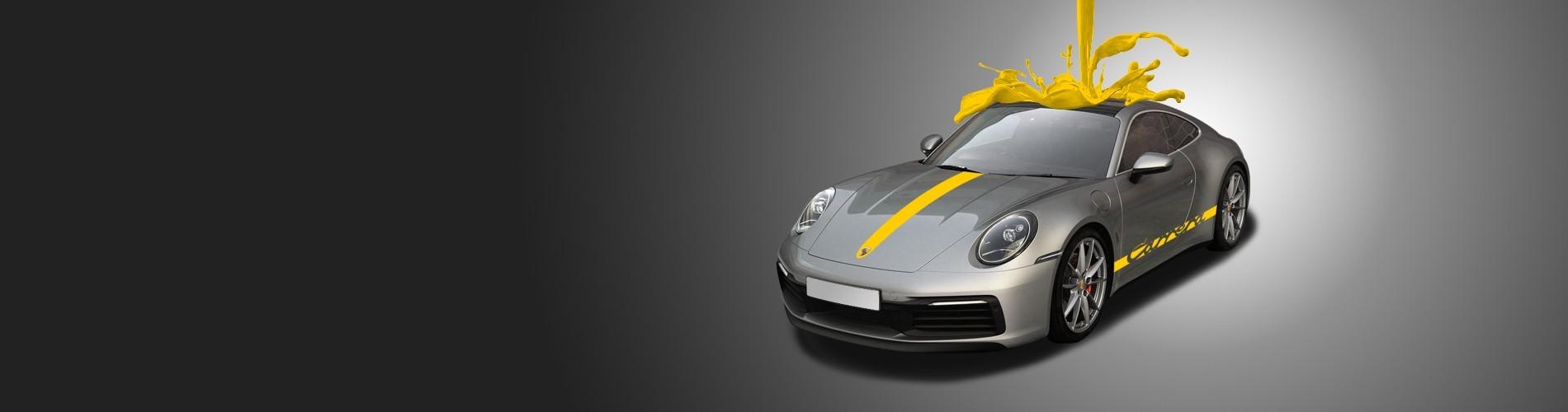 Ma Belle Voiture - Porsche Stickers