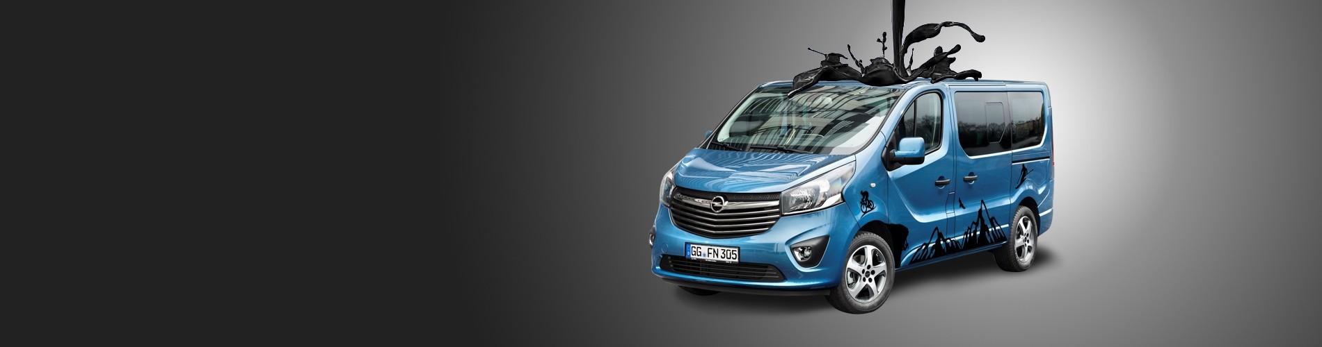 My Beautiful Car - Opel Vivaro Decals