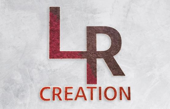 lettres végétales logo lr création